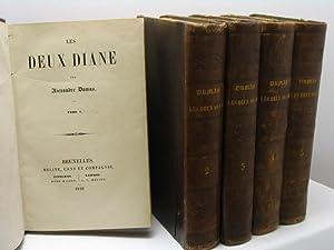 Les deux Diane par Alexandre Dumas - tome I-X: Dumas Alexandre