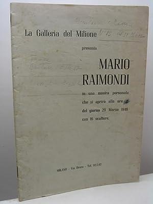 La Galleria del Milione presenta Mario Raimondi: AA.VV.