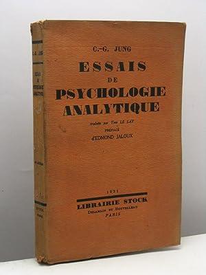Essais de psychologie analytique: Jung Carl Gustav
