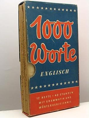 1000 Worte Englisch von Dr. Ernst Wallenberg: Wallenberg Ernst