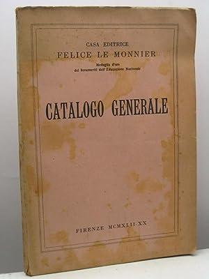 Catalogo Generale Casa Editrice Le Monnier