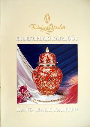 Kutahya Porselen hand made painted = Kutahya: KUTAHYA PORSELEN
