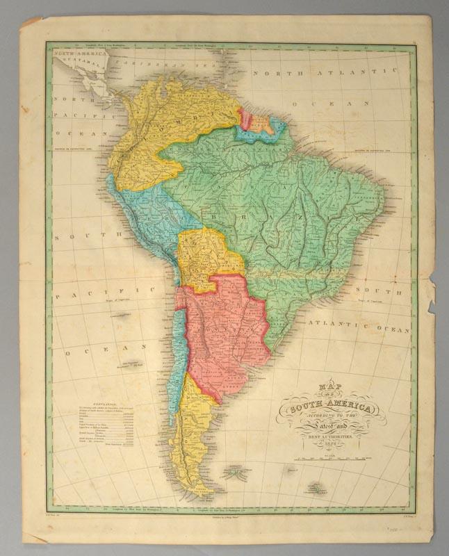 [MAP], SOUTH AMERICA FINLEY, Anthony [ ] (bi_10976606940) photo