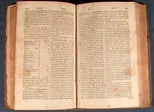 NEW ENGLAND FARMER; OR, GEORGICAL DICTIONARY: DEANE, Samuel