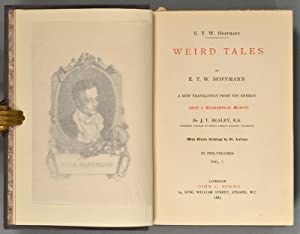 WEIRD TALES. A NEW TRANSLATION FROM THE GERMAN.: HOFFMAN,E.T.W.
