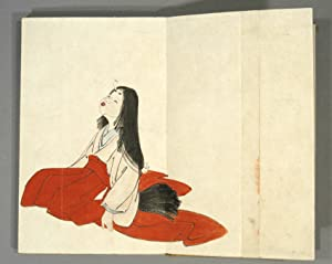 HUMOROUS ALBUM OF INDELICATE LADIES: PAINTING ALBUM] TOSHINDO, artist
