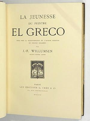 JEUNESSE DU PEINTRE EL GRECO: WILLUMSEN, J.-F