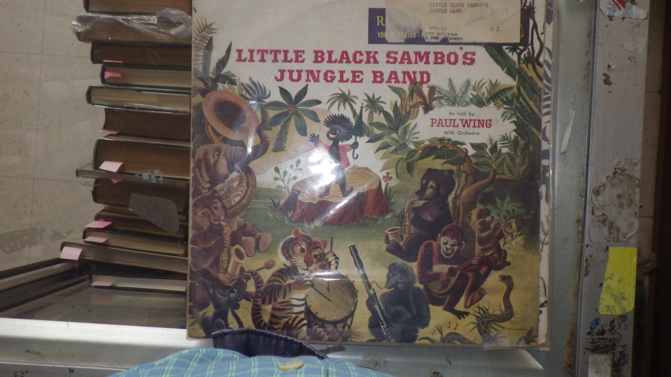 Little Black Sambo's Jungle Band Has Story with 1 45 RPM ...