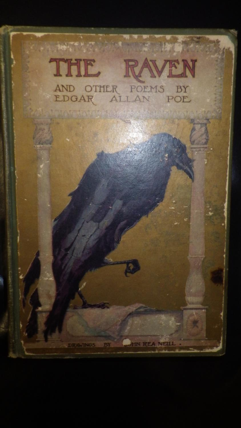 the raven and other poems by edgar allen poe illustrated by john view larger image