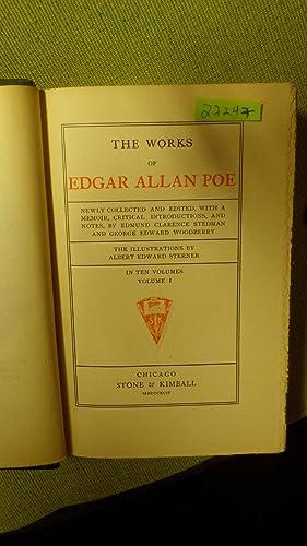 Tales of the GROTESQUE and ARABESQUE. VOL.: EDGAR ALLAN POE,