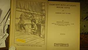 Fairview Boys at Lighthouse Cove in RARE Color DustJacket By R. Mencl. Series#5 Definitely a ...