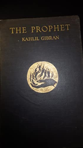 THE PROPHET BY KAHLIL GIBRAN, RARE VINTAGE Edition, March 1924, 1st Edition, 2ND Printing STATED ,...