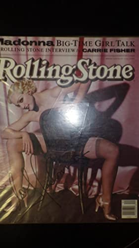 Rolling Stone Magazine JUNE 13, 1991, ISSUE: SIGNED MADONNA ACTRESS