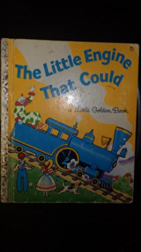 Little Engine that Could Little Golden Book#548: Retold by Watty