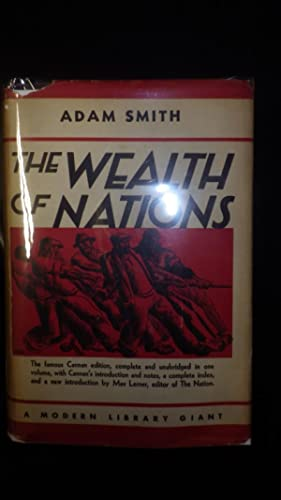 The Wealth of Nations, G32, 1937, STATED: Adam Smith, Scotch