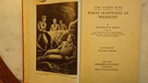 What Happened At Midnight Mystery, 1931A-1 True 1st Edition, 1st Printing, THICK RED Cloth with ...