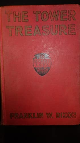 Hardy Boys Tower Treasure -Red Cloth with: by Franklin W.