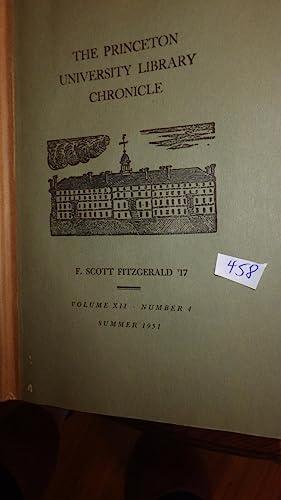 Princeton University Library Chronicle, The F. Scott: Original Stories Articles