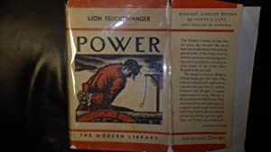POWER or (Jud Süß) ML# 206.1, 1932,: LION FEUCHTWANGER, Written