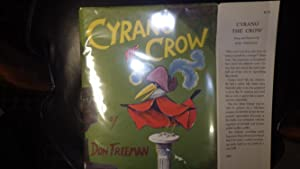 Cyrano the Crow in Green Dustjacket with: Written and COLOR