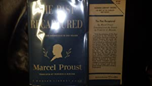 PAST RECAPTURED #278 ML , 1951, STATED: Marcel Proust, INNER