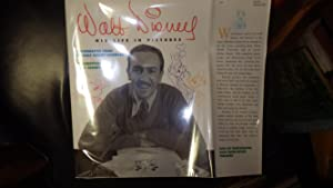 "Walt Disney, ""His Life in Pictures"" SIGNED: SIGNED and Dated"