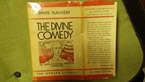 DIVINE COMEDY, Stated First Modern Library Edition 1932 in Red & White DJ of Man Head & ...
