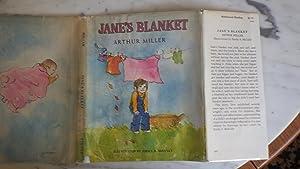 Jane's Blanket in color Dustjacket of Little: ARTHUR MILLER SIGNED,who