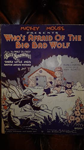 Mickey Mouse Presents Who's Afraid of the: by FRANK E.