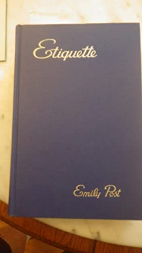 Emily Post - AbeBooks