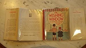 THE WISHING WINDOW IN Dustjacket, SIGNED &: by Hortense FLEXNER
