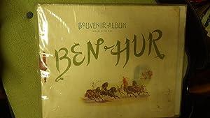 Ben-Hur Souvenir Album dated 1900, Scenes from Original Stage Play Program ( Ben Hur ) Production ...