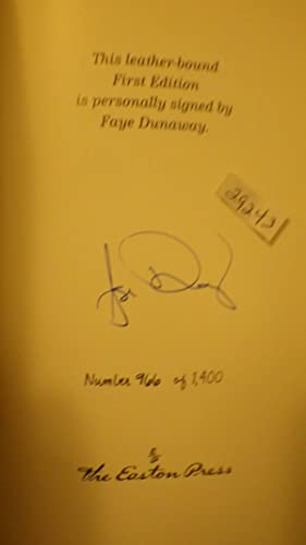 Looking For Gatsby My Life by Faye: Faye Dunaway, SIGNED