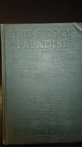 THIS SIDE OF PARADISE BY F.SCOTT FITZGERALD,: BY F.SCOTT FITZGERALD,