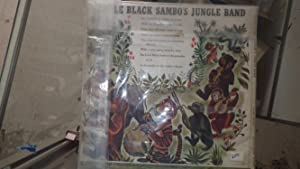 Little Black Sambo's Jungle Band Has Story with 1 45 RPM Record ONLY, 1939, IN Colorful ...