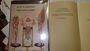 As It Is Written, Oriental Fantasy, Fiction: Smith, Clark Ashton,