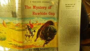 Mystery of Rawhide Gap A Bret King Mystery, Series #4 In RARE Color DustJacket of Cowboy in Red ...