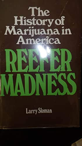 Reefer Madness History of Marijuana in America: Larry Sloman, SIGNED