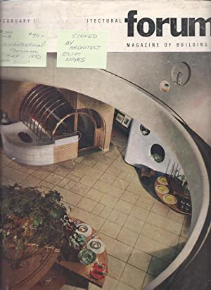 ARCHITECTURAL FORUM MAGAZINE OF BUILDING FEBRUARY 1950