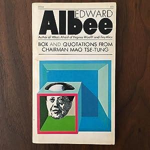 Box and Quotations from Chairman Mao Tse-Tung: Edward Albee