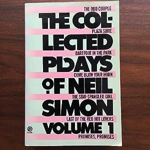 The Collected Plays of Neil Simon, Volume: Neil Simon