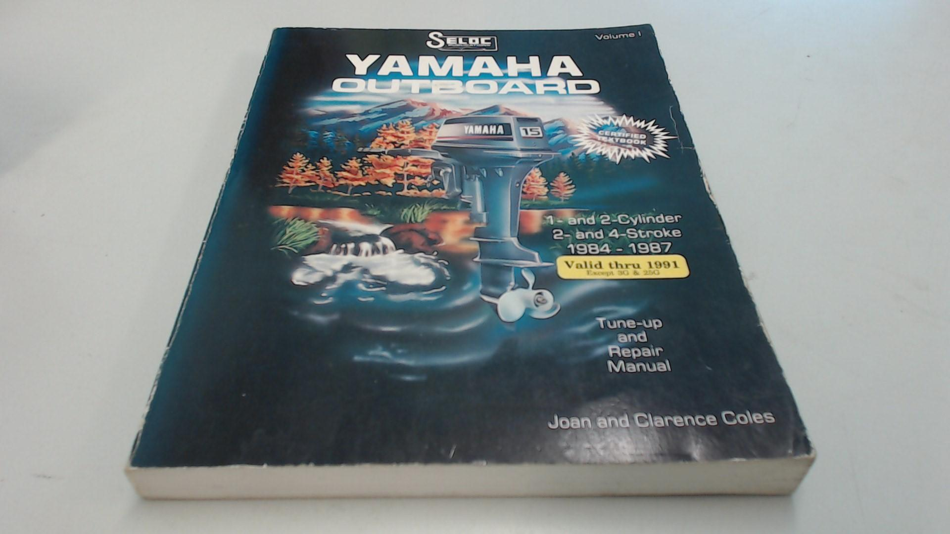 Yamaha Outboards 1984-1991 4 & 6 Cylinders Books Ships rhcv.be