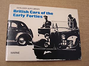 British Cars of the Early Forties, 1940-1946: Organization, Olyslager