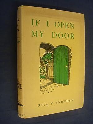 If I Open My Door by Rita: Rita F. Snowden