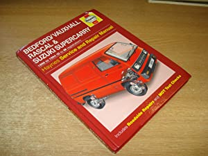 Bedford/Vauxhall Rascal and Suzuki Supercarry Service and: Legg, A. K.;