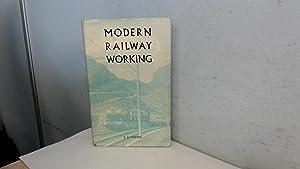 Modern Railway Working: B.J. Cooper