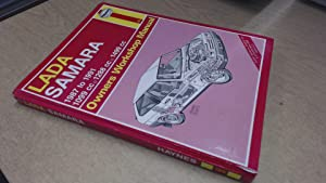 Lada Samara 1987-91 Owners Workshop Manual (Service: Churchill, Jeremy
