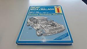 Seat Ibiza and Malaga (petrol) 1985-1992 (Haynes: Anon