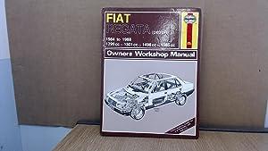 Fiat Regata 1984-88 Owners Workshop Manual (Service: Strasman, Peter G.