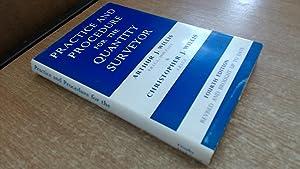 Practice And Procedure For The Quantity Surveyor: Arthur J. Willis